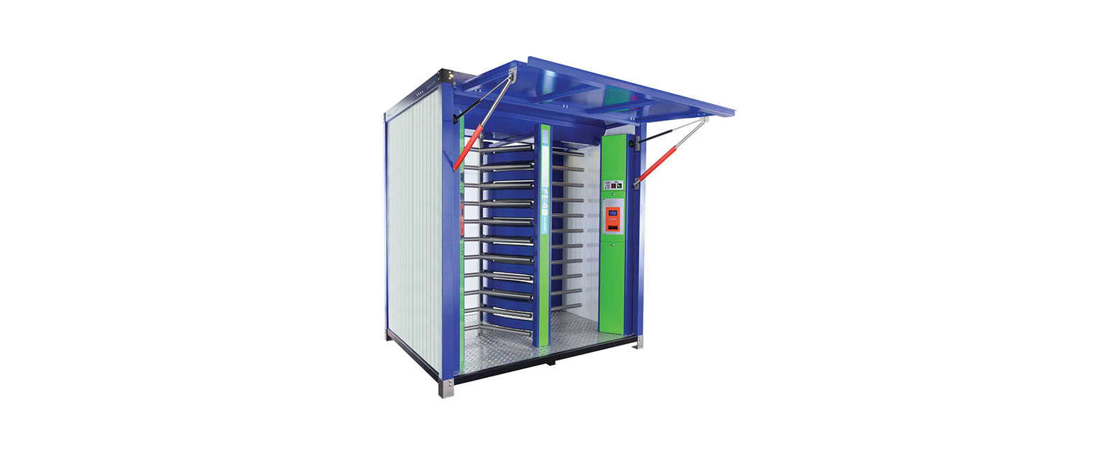 Container Solution Turnstiles by Ozak S